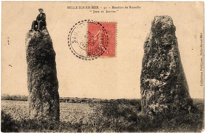 Menhirs Jean et Jeanne en Belle-île-en-Mer_72